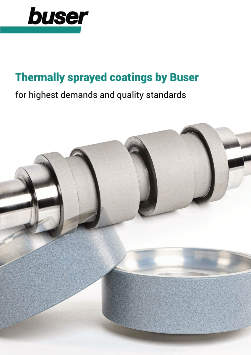 Thermally sprayed surfaces with metal, carbide and ceramics– quality coat for coat